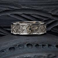 Кольцо обережное Ладинец
