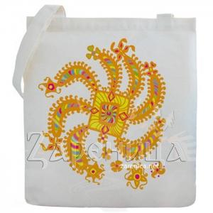 """Холщовая сумка """"Танец Ветра"""","""