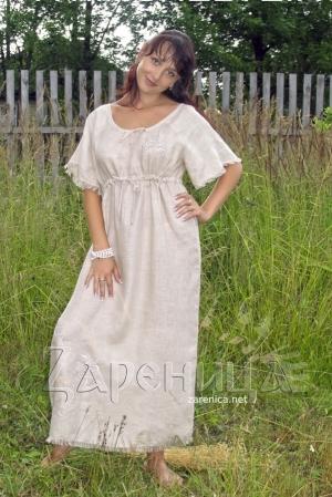 Платье из льна,