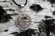 Оберег Ладинец в круге Солнца с камнем