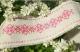 Очелье льняное с вышивкой