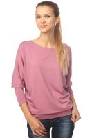 Блуза летучая мышь розовая
