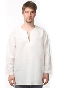 """Рубаха """"Богатырь"""" белая"""