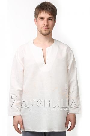 """Рубаха """"Богатырь"""" белая,"""