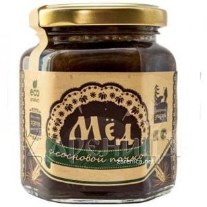 Мед натуральный с сосновой почкой,
