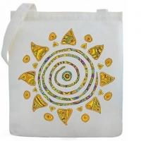 "Холщовая сумка ""Солнце"""
