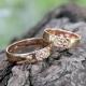 Кольца со Свадебником золотые