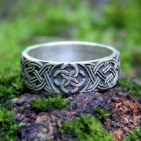 Кольцо со Свадебником с орнаментом