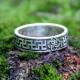 Кольцо со Свадебником с солнечным орнаментом