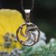 Оберег Символ Рода в золоте