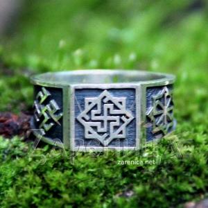 Перстень Валькирия-Одолень Трава-Молвинец,