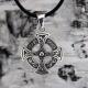 Оберег Кельтский Крест с чернением