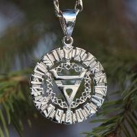 Оберег Знак Велеса в славянском рунном круге