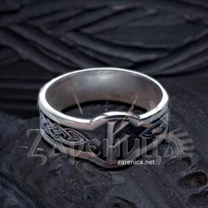 Кольцо с Руной Феху,