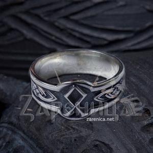 Кольцо с Руной Одал,