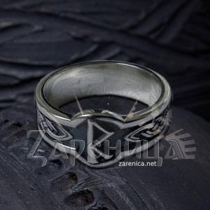 Кольцо с Руной Райдо,