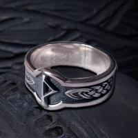 Кольцо с Руной Турисаз