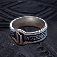 Кольцо с Руной Уруз