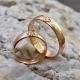 Кольца со Свадебником с камнем золотые