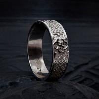Кольцо обережное со Свадебником