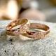 Кольцо со Свадебником золотое