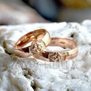 Кольцо со Свадебником золотое,