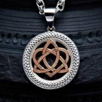 Оберег Кельтский узел любви в круге