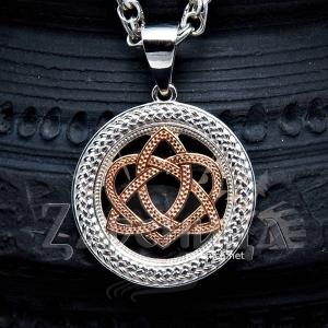 Оберег Кельтский узел любви в круге,