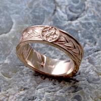 Кольцо плетёное со Свадебником