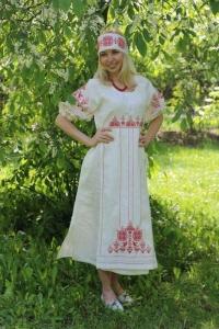 "Платье ""Лада"" белое"