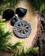 Шлем Ужаса (Агисхьяльм) в Футарке с чернением