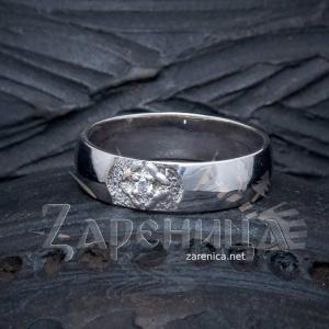 Кольцо со Свадебником с камнем,