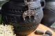 Оберег Цветок Папоротника в Луннице с чернением