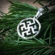 Оберег Цветок Папоротника - Одолень Трава в круге