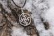 Оберег Цветок Папоротника - Одолень трава в круге малый
