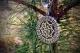 Оберег Валькирия в рунном круге с чернением